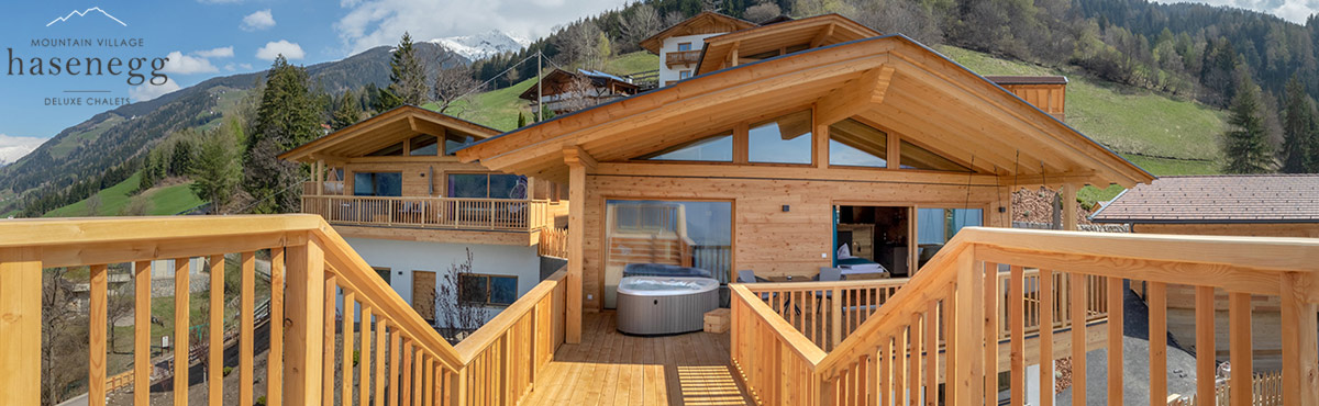 Mountain Village Hasenegg Deluxe Chalets