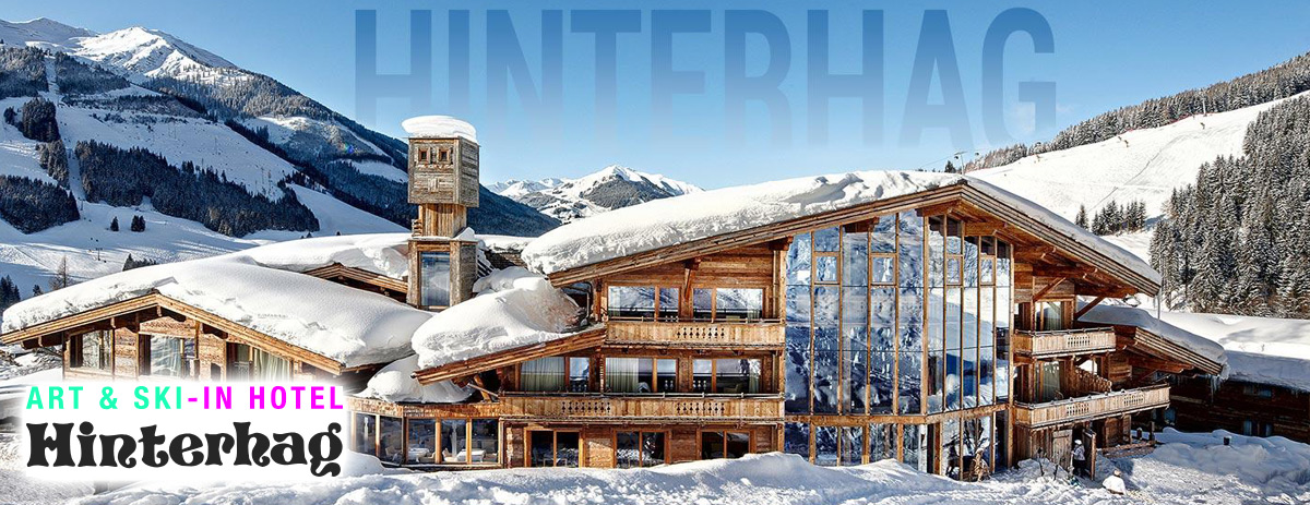 Art & Ski-In Hotel Hinterhag **** in Saalbach