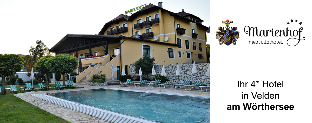 Vitalhotel Marienhof **** in Velden am Wörthersee