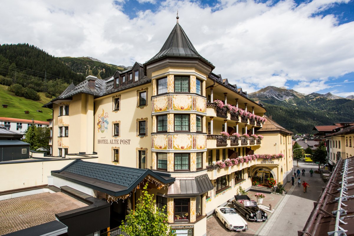Gourmet- und Wellnesshotel Alte Post****S in St. Anton am Arlberg